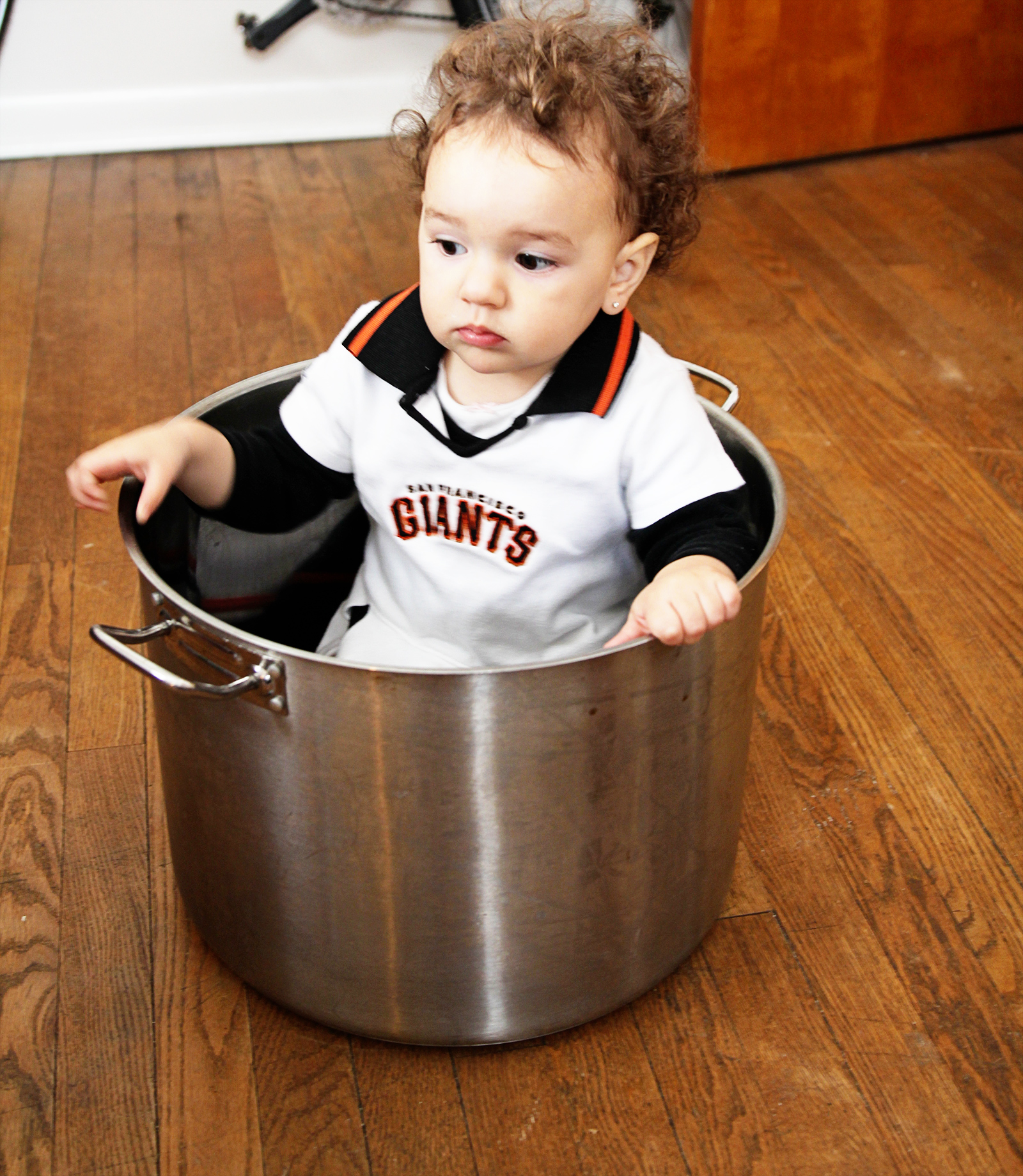 My sister, brother-in-law, and niece came for a visit in February. A big Giants fan!